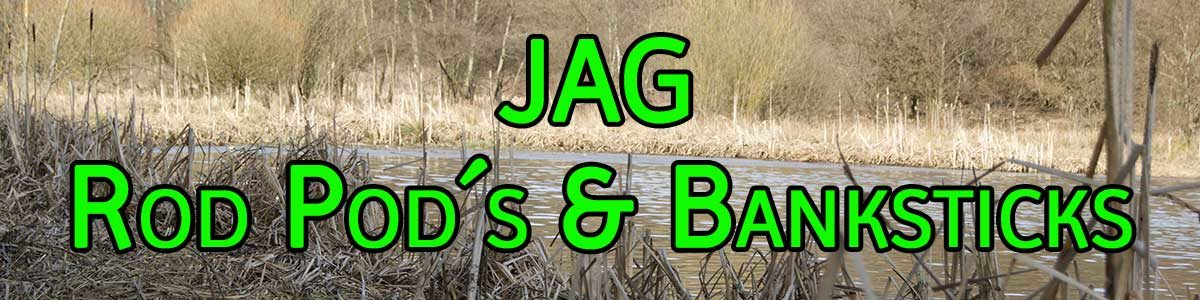 JAG Rod Pod, Banksticks und Zubehör