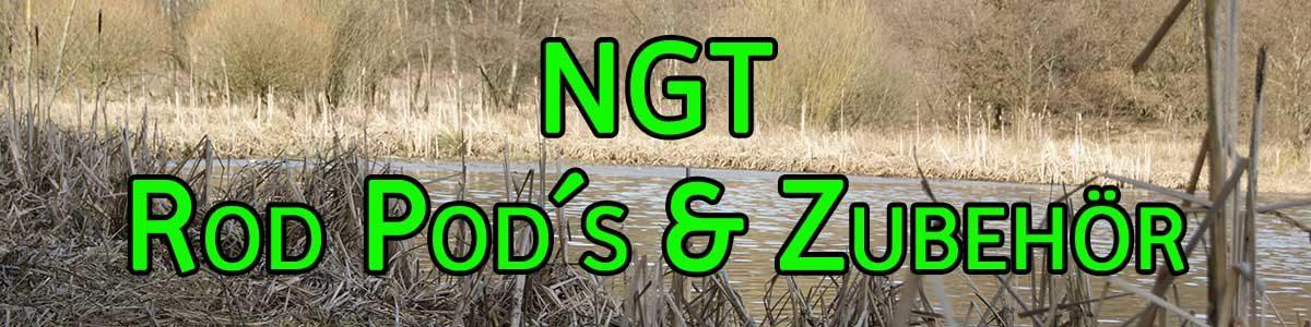 NGT Rod Pod und Zubehör