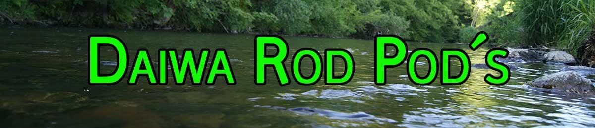 Daiwa Rod Pod und Zubehör